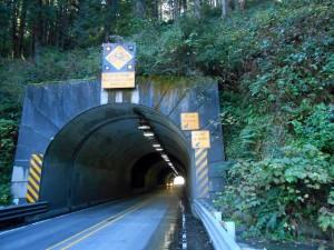Tunnel on US101