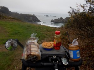 Lunch by the road