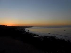 Morning sky Malibu