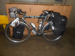 Assemble touring bike