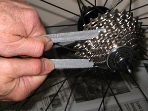 Cleaning Shimano 10-speed cassette
