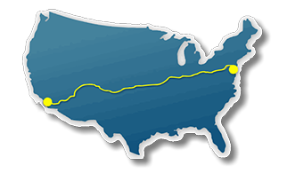 Bicycle Routes Across The Usa And Bicycle Maps Across America - Map-of-us-route-80